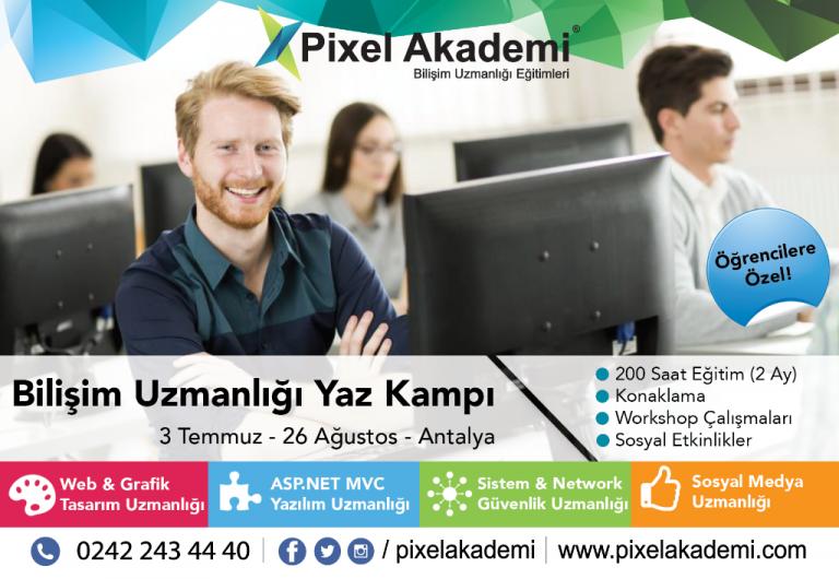 Pixel Akademi Yaz Kampı | Yalçın Güler
